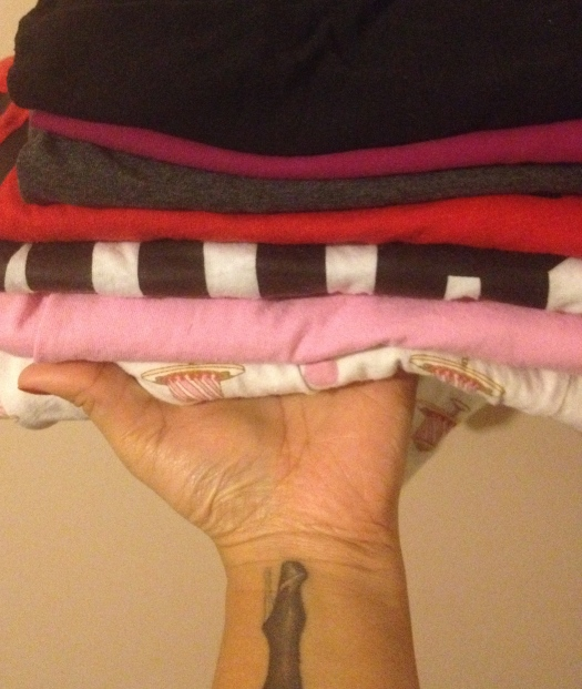 My OCD folding