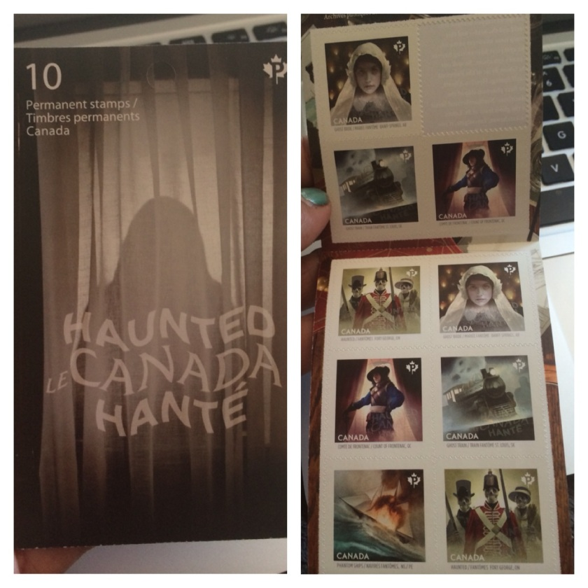 Haunted Canada Stamps
