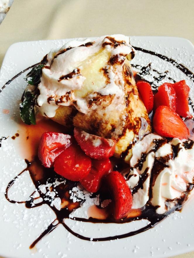 Strawberry Palatschinka